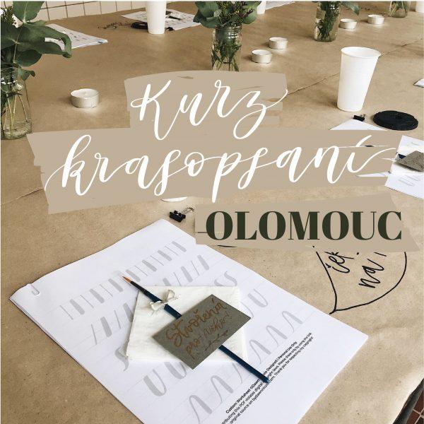 Kurz krasopsaní Olomouc