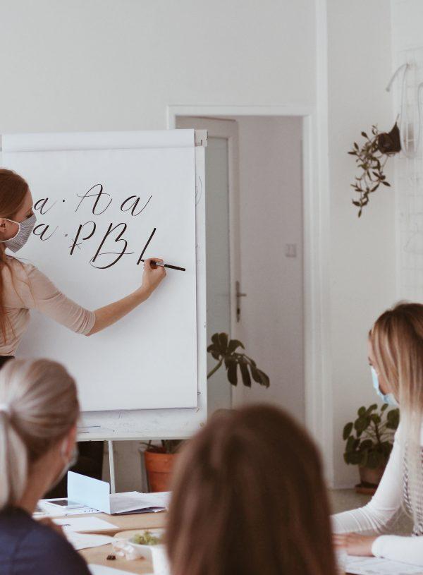 Jaký byl kurz krasopsaní v Praze?